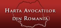 harta avocati romania